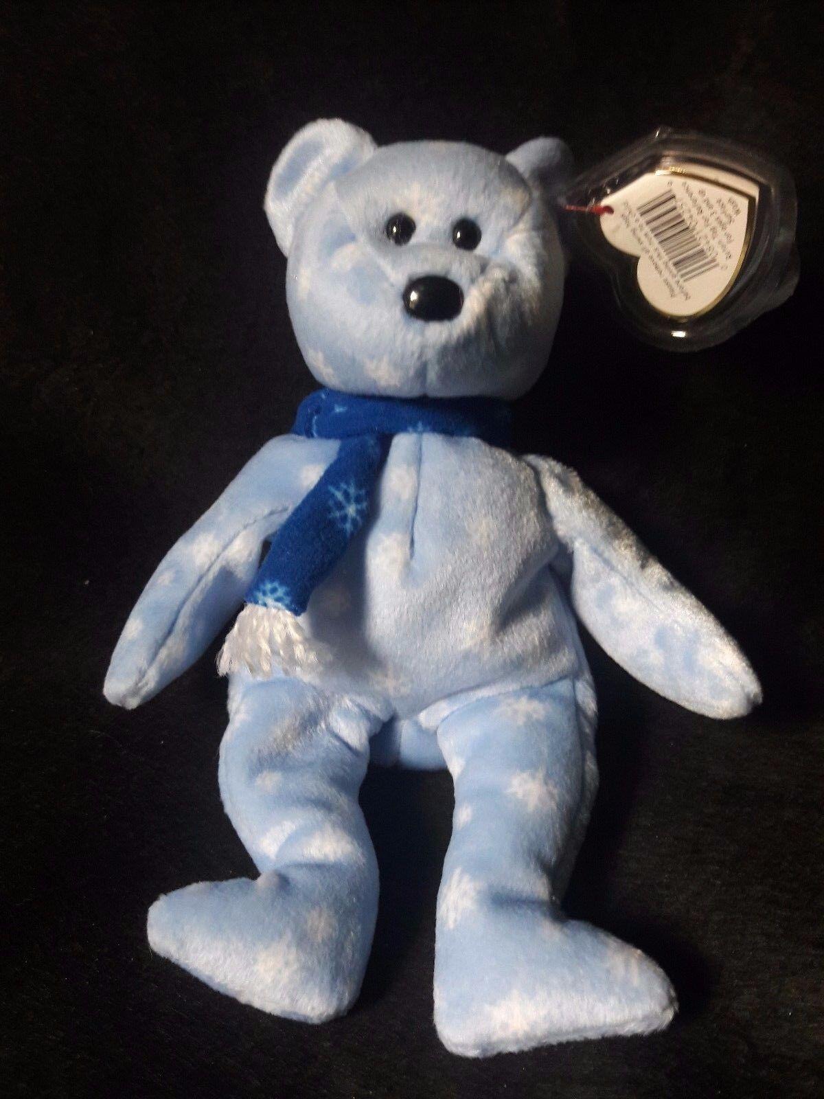 1999 Holiday Teddy beanie baby - Retired- RARE