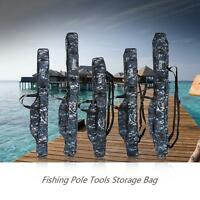 Fishing Rod Carrier Fishing Pole Tools Storage Bag Case Smart Anglers D4p2
