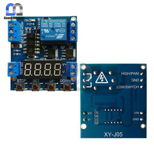 6-30V Relay Module Switch Trigger Time Delay Circuit Timer Cycle Adjustable HOR