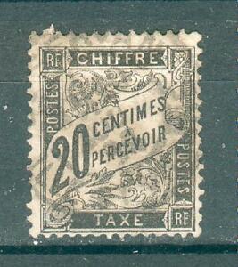 MéThodique France ; Taxes ; 1881-92 ; Maury N° 17 ; Oblitéré