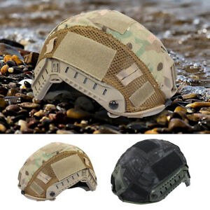 Tactical-Military-Helmet-Cover-for-Ops-Core-Fast-Helmet-BJ-PJ-MH-Hunting-MR-Camo
