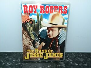 Roy-Rogers-The-Days-Of-Jesse-James-Western-DVD-New