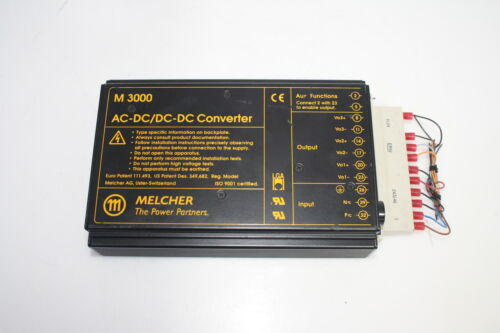 Melcher M3000 AC-DC Converter LM 3040-7 Switching Power Supply 5.1V 0.5A Used
