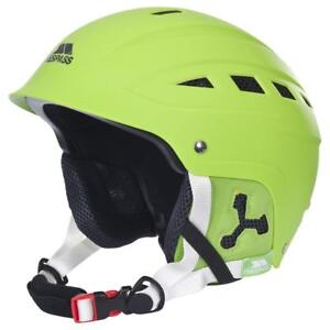 Medium Small Helmet Sport Furillo 54 Lime 58cm Trespass Green Snow Ski Helmet 8x4wxqBzf