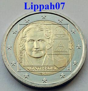 Italie-Italien-speciale-2-euro-2020-Maria-Montessori-UNC