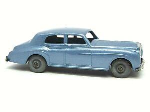 Matchbox-Lesney-No-44a-Rolls-Royce-Silver-Cloud-Ruedas-de-Metal