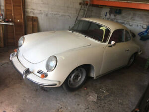 RARE PORSCHE 356 PROJECT FROM 35 YEAR COLLECTION OF RARE CARS