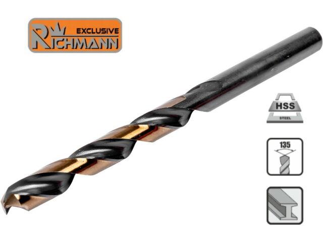 Foret mèche à métal HSS professionnelle 7 mm RICHMANN C9716