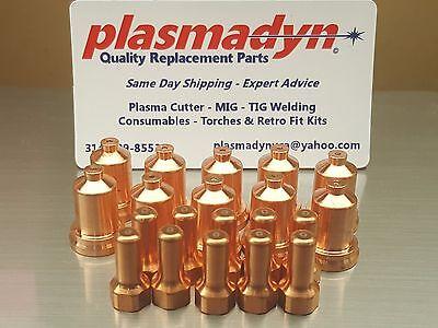 10pc x 70A Shielded Nozzle Set PT80 PT-80 iPT80 Plasma Torch Everlast® 70s 80s