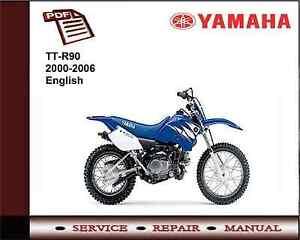 yamaha tt r 90 ttr90 2000 2006 workshop service repair manual ebay rh ebay ie yamaha ttr 90 manual free download yamaha ttr 90 manual free download