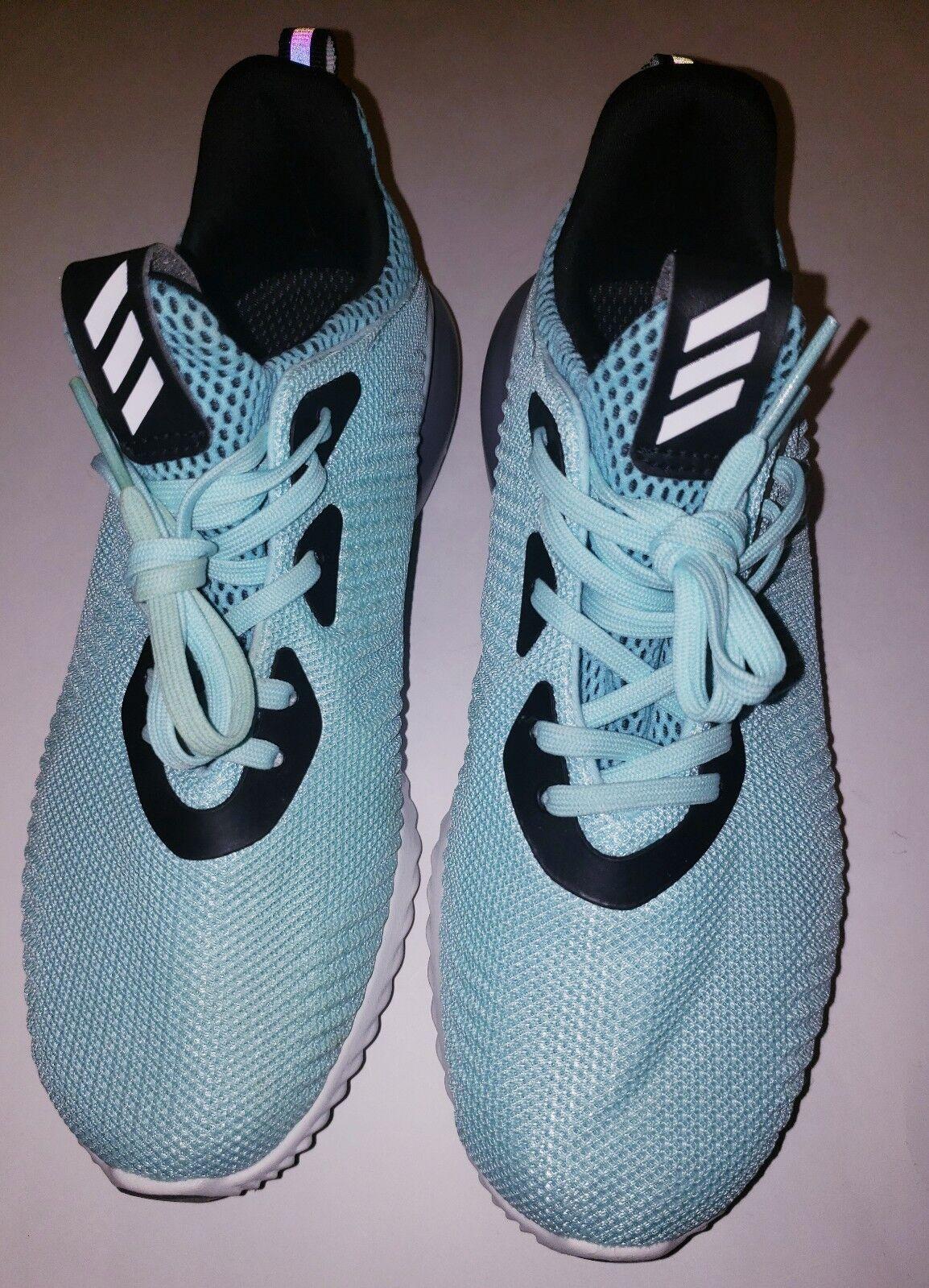 Adidas Alphabounce scarpe Sz  7 NUOVO AUTHENTIC Clear Aqua B39429  ottima selezione e consegna rapida