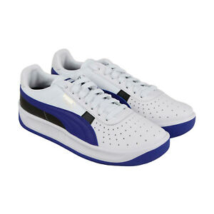 Details about Puma Gv Special + Colorblock Mens White Leather Low Top Sneakers Shoes