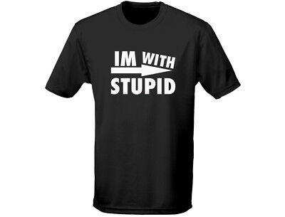 Begeistert Im With Stupid Funny Mens T-shirt (12 Colours)