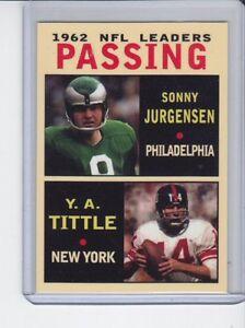 Sonny-Jurgensen-Y-A-Tittle-039-62-NFL-Passing-Leaders-rare-MC-Glory-Days-3