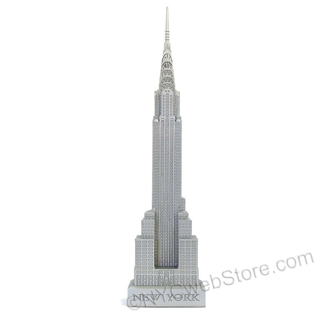 Chrysler Building NYC Model (18 ) - New York City Souvenir Statue Travel Gift