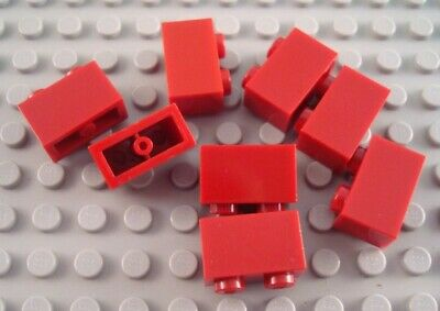 LEGO Lot of 8 Dark Red 1x4 Brick Pieces