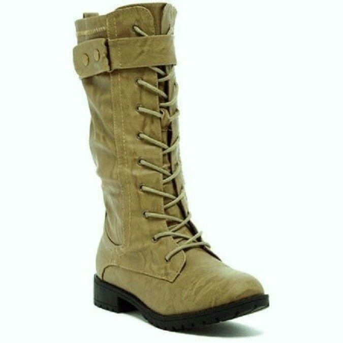 8dd8a7367 Carrini Carrini Carrini CA Collection Women s Fashion Lace-Up Boots Size 9