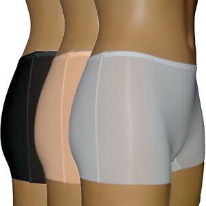 3-st-Damen-Unterhose-Slip-Unterwasche-Slips-Pantys-Hipster-Unsichtbar-Invisible