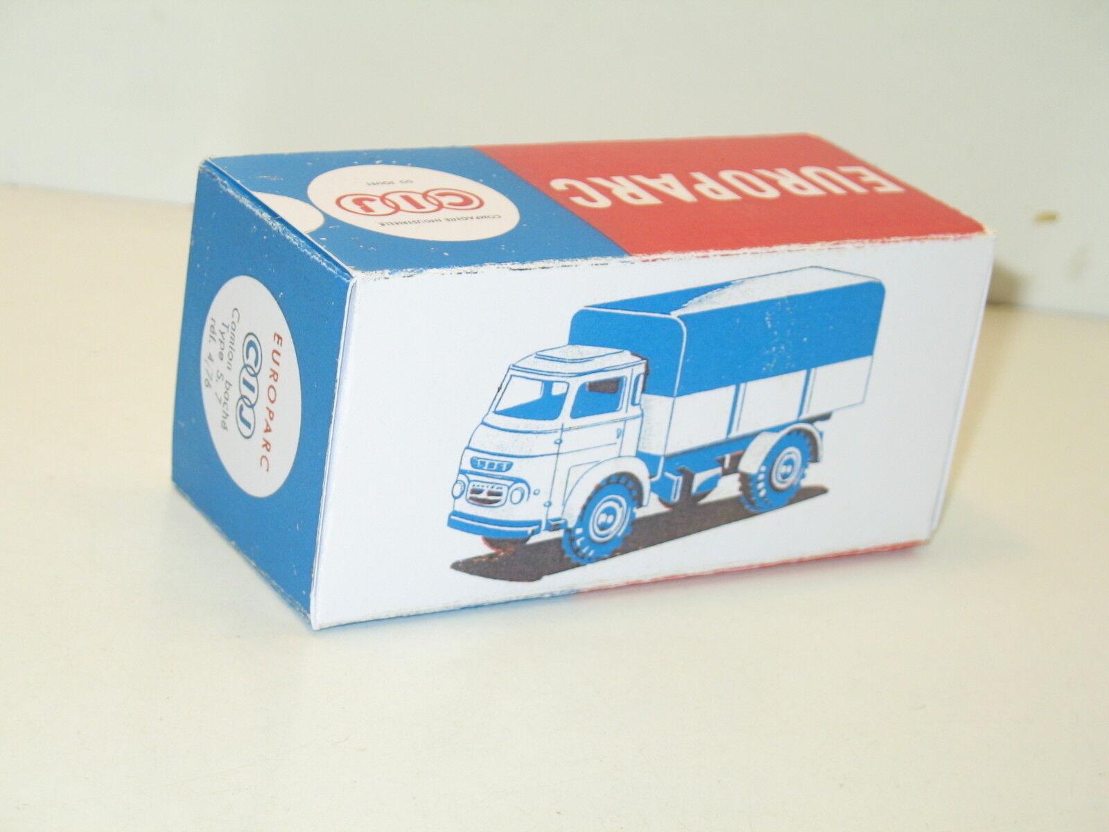 N114, caja repro camión saviem cubierto, militar S.7 CIJ