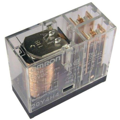 OMRON G2R-2-12 Relais 12V DC 2xUM 5A 275R PCB Power Relay 855023