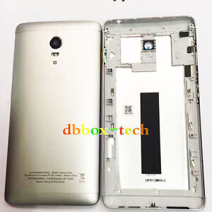 low priced dadc4 5b1ee Details about Origin Rear Back Door Housing Battery Back Cover For Lenovo  Vibe P1 P1A42