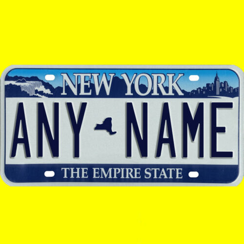 custom New York design Ride-on battery powered vehicle license plate