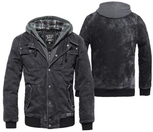 coton Brandit capuche capuche vintage en Sweat Dayton capuche avec noir ᄄᄂ ᄄᄂ 3139 Parka de moto lavᄄᆭ par CtsdohQBrx