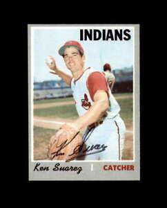 Ken Suarez Hand Signed 1970 Topps Cleveland Indians Autograph