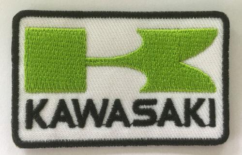 Embroidered cloth patch Kawasaki B040409