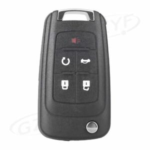 5-Buttons Remote Key Fob Shell Case for 2010-2013 Chevrolet PG657DC