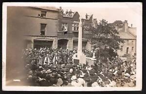 Poulton-le-Fylde-near-Blackpool-War-Memorial-Ceremony