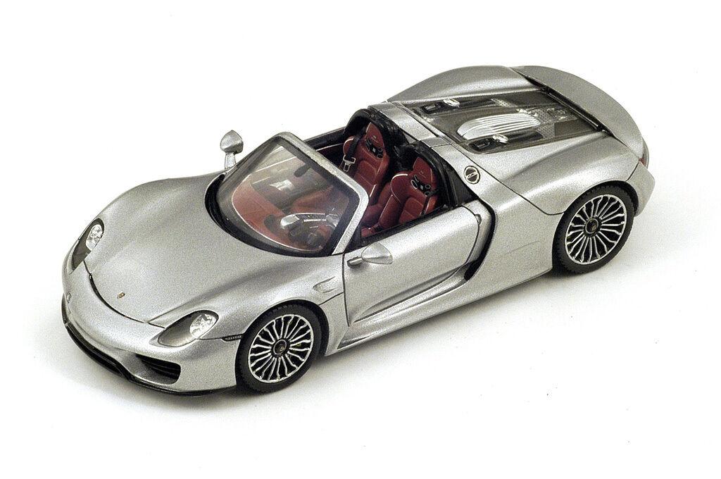 SPARK Porsche 918 Spyder argent - Argent S4244 1 43