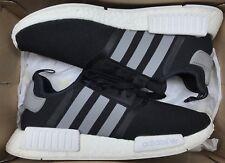 764b026496006 Adidas NMD R1 Black Charcoal Grey White Ultra Boost S31504 Sz 10.5