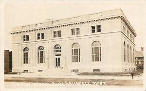 RPPC-KALISPELL-MT-New-Federal-Building-Montana-Real-Photo-Postcard-ca-1920s