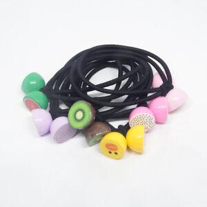 Bandes-Elastiques-Cheveux-Clips-Les-Filles-Lot-de-6-pcs-Fruit-en-polycarbonate