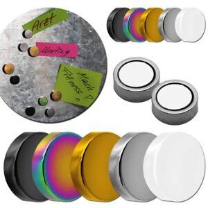 magnete magnetisch haftmagnet edelstahl pinnwand b ro k hlschrank magneten set ebay. Black Bedroom Furniture Sets. Home Design Ideas