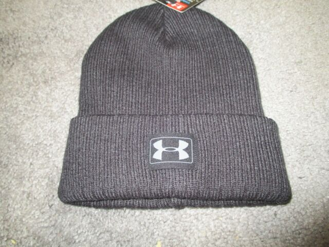 Under Armour Toddler Boys Truck Stop Beanie Youth One Size Black  272d257ec31