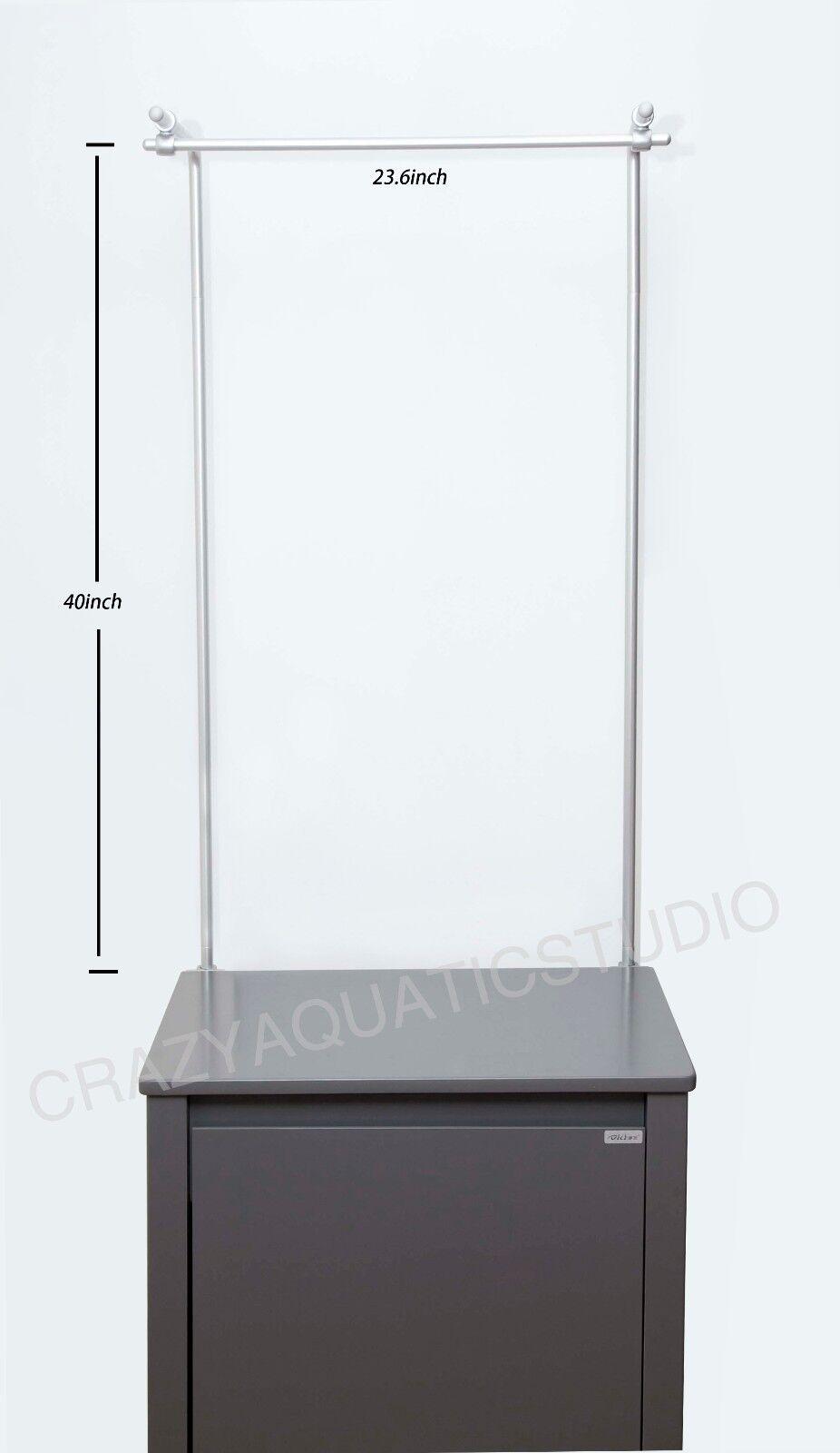 Aquarium Fish Tank aluminium Light Holder Fixture Support Lamp Stand