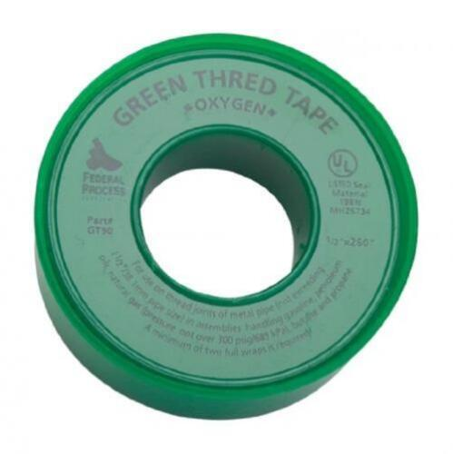 Gasoila GT90-24 Green PTFE High Density Thread Tape Roll -450 to 550 Degree...