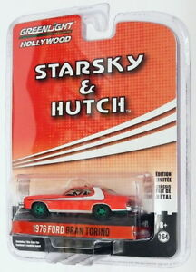 Greenlight-1-64-Scale-44780-A-1976-Ford-Gran-Torino-Starsky-amp-Hutch-Chase