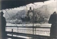 1936 The Pfalz by Caub Castle Rhine River Germany Press Photo