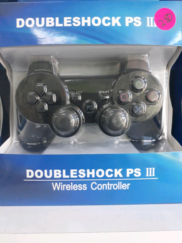 DoubleShock PS3 wireless controller