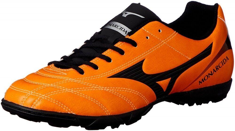Nuevo Mizuno monarcida 2 Envío Gratuito tan amplia Zapatos de fútbol de césped P1GD1823 Naranja