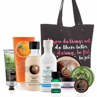 Body Shop Tote Lot-free Shipping