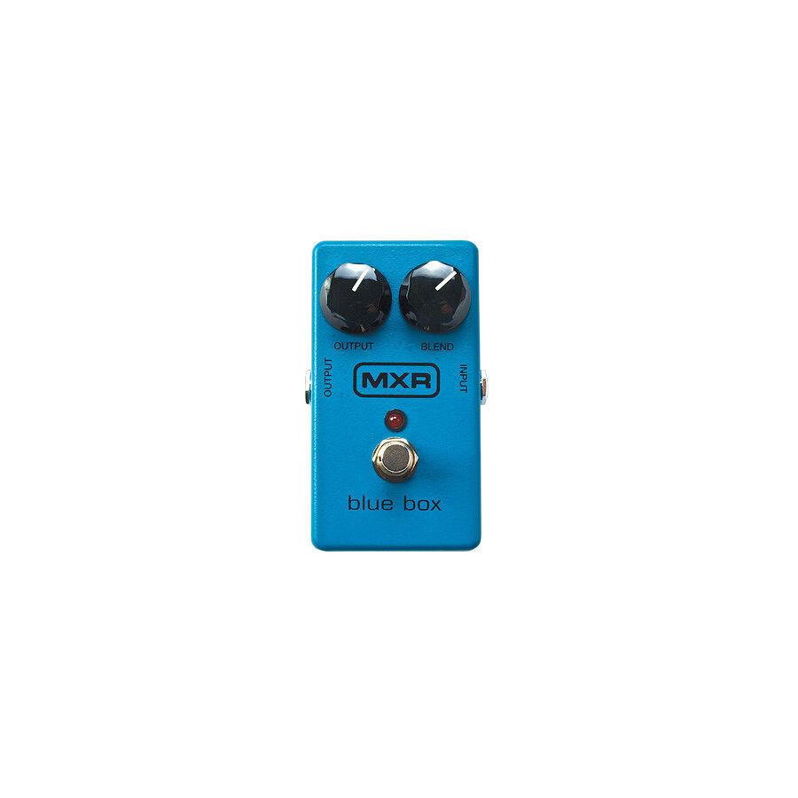MXR bluee Box M103  Fuzz Octave Pedal, New