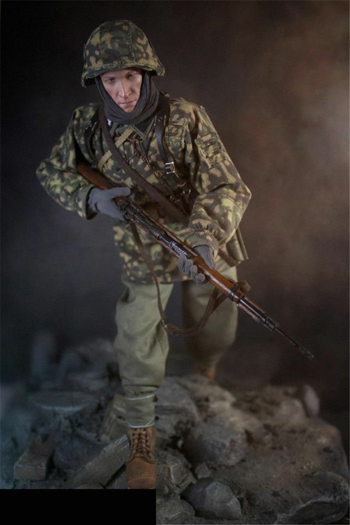 1/6 DID D80127 3RD SS Panzer Division Division Division MG34 Gunner Ver.C Action Figure Collection 987b5d