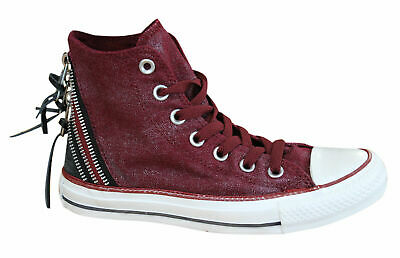 Converse Chuck Taylor Tri Zip Hi Womens Trainers Lace Up Shoes ...
