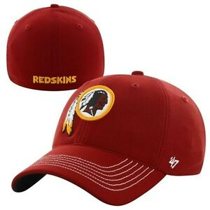 new style 4d0eb e3e89 Image is loading Washington-Redskins-47-Brand-Game-Time-Closer-Hat-