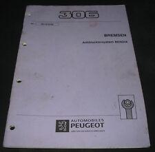 Werkstatthandbuch Peugeot 306 GTI 16 V Bremsen Antiblockiersystem Bendix 03/1993