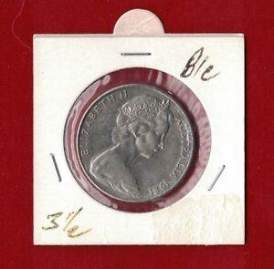 1981-Australia-20c-Canada-3-1-2-claw-Silver-Mint-AU-to-UNC